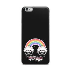 Pastel Goth iPhone Case | Dead Inside Rainbow Cupcakes | Kawaii Phone Case