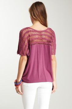 Can't Stop Crochet Tee <3 this
