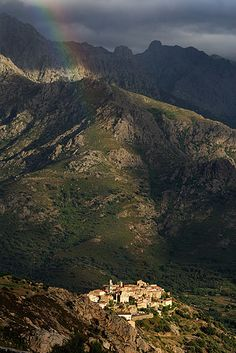 Paint a rainbow! #Corsica #France #Travel