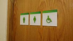 Holiday Inn #male #female #paraplegic #icon #bathroom #signage #green #hotel #information Bathroom Signage, Hotel Signage, Triangle, Female, Holiday, Green, Projects, Log Projects, Vacations