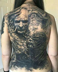 Evil Tattoos, Wicked Tattoos, Badass Tattoos, Sexy Tattoos, Body Art Tattoos, Sleeve Tattoos, Tattoos For Guys, Dark Art Tattoo, Tattoo Henna