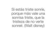 Walt Disney. Una palabra de aliento para quienes a veces la preocupación nos come por dentro.