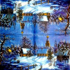 Winterland - Napkins for Decoupage, Decoupage Shop