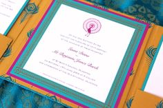 Indian Wedding Invitation  5