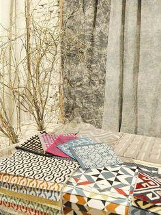 Diseños de Nacho de la Vega, Natural Fabrics y James Malone @latorredecora  http://latorredecoracion.com/productos/