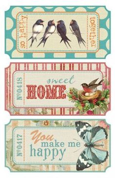 cute tickets to print: