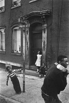 W. Eugene Smith ▪ USA ▪ Pennsylvania. Pittsburgh. 1955