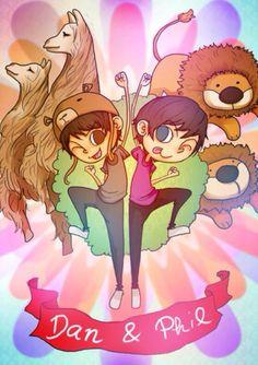 Dan and Phil poster