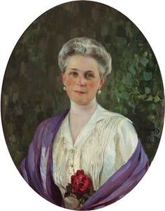 1914 Portrait of Princess Zenaida Youssoupoff (1861-1939)