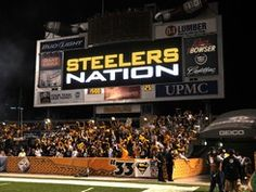 STEELER NATION Any Given Sunday!