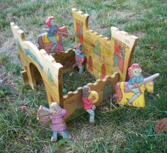 Custom Castle and Knight set RESERVED for by YoureInspired on Etsy