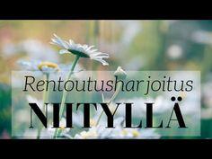 Rentoutusharjoitus niityllä | Mielikuvitusmatka - YouTube Cbt, Meditation, Relax, Mindfulness, Wellness, Health, Nature, Youtube, Naturaleza
