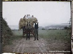 Farmer, Cornwall. c. 1913 | 16 Edwardian Colour Photos That Will Make You Feel Like A Time Traveller