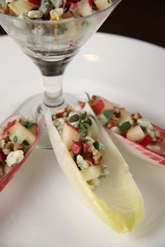 Endive with Blue Cheese & Pecans by @A Communal Table