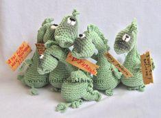 007 Dragon Draco  Amigurumi crochet pattern  PDF par LittleOwlsHut