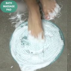 Bath Massage Pad Good circulation is vital to a persons health. Foot massage is one of the different ways to improve foot and leg circulation for a happier and healthier you. Diy Crafts For Teen Girls, Home Gadgets, Foot Massage, Cool Inventions, Useful Life Hacks, Home Hacks, Kids Christmas, Crochet Christmas, Cleaning Hacks