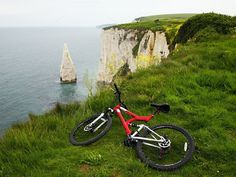 Check out Biking around Cliffs by Traveling Lifestyle on Creative Market
