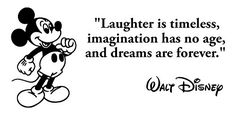 Laughter is Timeless Wall Decal: Walt Disney Quotes Decal is a High Quality Vinyl Wall Decal Displaying a Disney Quotes Wall Decals. This famous quotes wall decal includes an image of Mickey Mouse. *** More info could be found at the image url. Vinyl Wall Decals, Wall Stickers, Mickey Mouse Images, Walt Disney Quotes, Famous Quotes, Laughter, Life Quotes, Motivation, Sayings