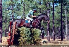 """Epic Win and Denny.    """"Epic Win was one of the good ones, tough, fast, athletic and sane. If all OTTBs were like Epic, no problemo!"""" -Denny Emerson"""