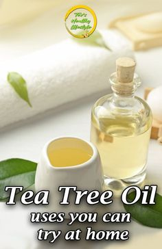 Tea tree oil has been long valued for its anti-fungal, antibacterial and antiviral properties. See this 4 tea tree oil uses you can try at home! Herbal Oil, Herbal Remedies, Health Remedies, Health And Wellness, Health Tips, Health Benefits, Health Foods, Tea Tree Oil Uses