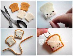 Diy crafts for kids step by step felt toast man home interior designs ideas . diy crafts for kids Kids Crafts, Diy And Crafts Sewing, Easy Diy Crafts, Felt Crafts, Diy Crafts For Kids, Easter Crafts, Crafts To Sell, Felt Diy, Diy Kawaii