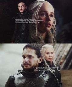 Image uploaded by 🖤Raphael_ka🖤. Find images and videos about game of thrones, daenerys targaryen and jon snow on We Heart It - the app to get lost in what you love. Jon Snow And Daenerys, Winter Is Here, Winter Is Coming, Book Tv, Book Series, Watch Game Of Thrones, Tragic Love Stories, Valar Morghulis, Films