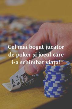 Vrei să afli care este cel mai bogat jucător de poker din toate timpurile? Iată lista cu primii 5 jucători care și-au schimbat viața jucând poker. #Romania #jocuri #jocuricalaaparate #casino Mai, Broadway, News, Blog, Blogging