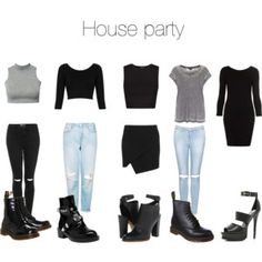 House Party Outfit Goals Pinterest Party Outfits House And