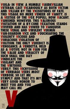 V for vendetta speech poster by Gabo Ulloa. V for Vendetta speech V For Vendetta Speech, V For Vendetta Poster, V For Vendetta Tattoo, V For Vendetta Quotes, V Pour Vendetta, V For Vendetta Cast, V For Vendetta 2005, V Speech, V For Vendetta Wallpapers