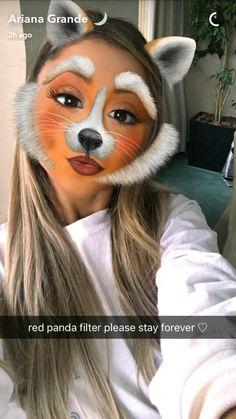 Ariana Grande via Snapchat | @heyitsgrell