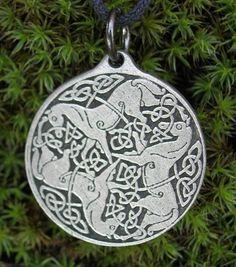 Goddess Epona Amulet Celtic Horses - Ironside
