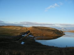 Pseudocraters at Lake Mývatn