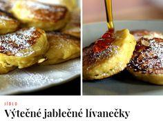 Lívanečky : *** Recept zde : http://azzin.cz/vytecne-jablecne-livanecky/
