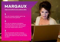Margaux hat ein paar Tipps parat... #Traumfrauen