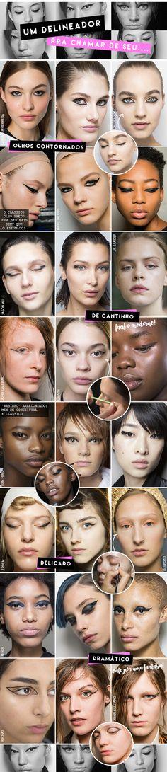 Um delineador para chamar de seu… tendências e dicas com Fabiana Gomes, da M.A.C.! - Garotas Estúpidas - Garotas Estúpidas