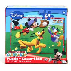 Mickey and Goofy 15-Piece Puzzle$7.99