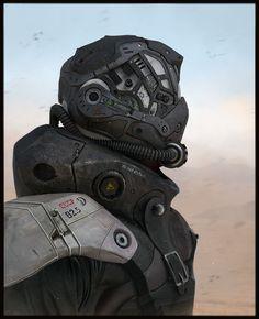 Russian Bot soldier by LMorse.deviantart.com on @deviantART