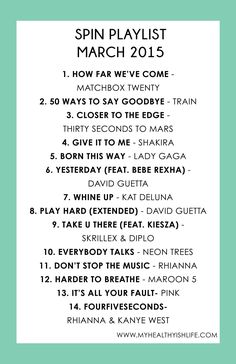 spin playlist