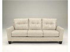 Shop for Signature Design Paulie Taupe Sofa, SI2700038, and other Living Room Sofas at Woodstock Furniture in Acworth and Hiram Georgia. The Paulie Taupe Sofa features tight back and 3 loose seat cushions.