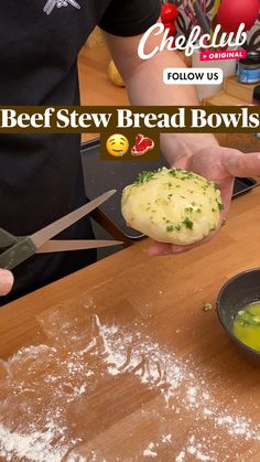 Beef Recipes, Soup Recipes, Dinner Recipes, Cooking Recipes, Carne, Bread Bowls, Easy Cooking, Diy Food, Food Dishes