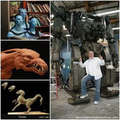 """""""PROJECT 880"""". Before James Cameron left for his 1995 undersea expedition to the Titanic his 80-page treatment for @avatar_movie_ was already complete but the necessary #technology did not exist to achieve his story and vision. A core group of #artists including @waynebarlowe Yuri Bartoli @jorduschellstudio and @nevillepage began producing hundreds of pencil-and-paper drawings. In mid 2005 #StanWinstonStudio also joined the #conceptual and #character development process working on the…"""