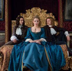 Monsieur Philippe, Palatine & Chevalier in season 2 of Versailles