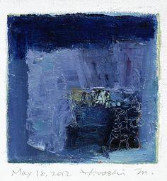 May 16 2012 Original Abstract Oil Painting by hiroshimatsumoto