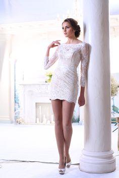 Albina - Nava Bride Dresses 2014, Evening Dresses, White Dress, Dresses With Sleeves, Long Sleeve, Inspiration, Fashion, Evening Gowns Dresses, Biblical Inspiration
