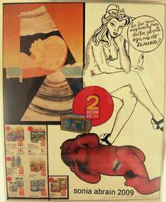 #SoniaAbrain#Arte#Dibujo#Pintura#Fotomontje#Plumilla#Ecografia#Madre#Maternidad#Muralista#Hijos