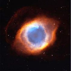 Helix Nebula or eye of God?  IMAGES FROM SPACE - The SpaceAppreciationSociety