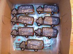 Moving Day Cookies! - Erin Miller Cakes - https://www.facebook.com/erinmillercakes