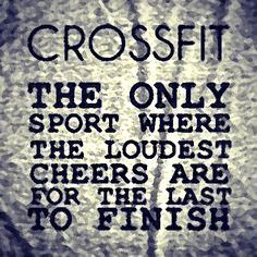 Crossfit This is soooo true, our club is not just a gym its a community! #WOD #ILOVECROSSFIT