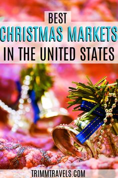 Christmas is a magical time of the year. Visiting one of these best Christmas markets in the USA is a great way to get on your holiday cheer! Christmas Markets in the USA   Trimm Travels   Christmas Markets   USA Christmas Markets   Best USA Christmas Markets   Holiday Markets   USA Holiday Markets   Holiday Markets in USA   Christmas   Holidays   Merry Christmas   Best Holiday Markets   December   Winter   Christmas   #christmas #holiday #markets #usa #unitedstates #travel