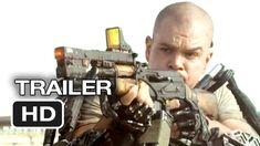 Elysium Official Trailer #1 (2013) - Matt Damon, Jodie Foster Sci-Fi Movie HD, via YouTube.